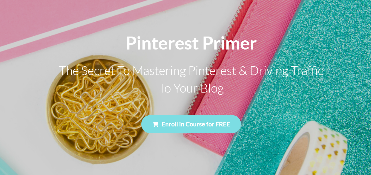 Pinterest primer free Pinterest classes