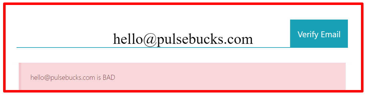 email address pulsebucks