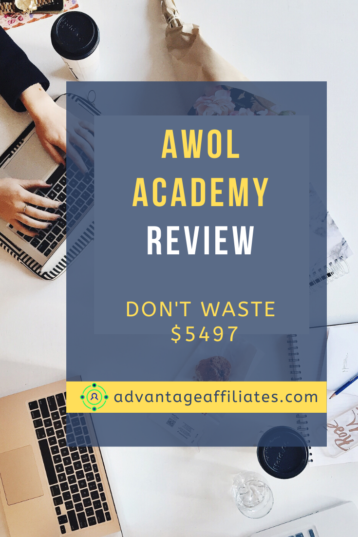 AWOL Academy Review pin