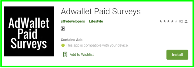 review of Adwallet Paid Surveys
