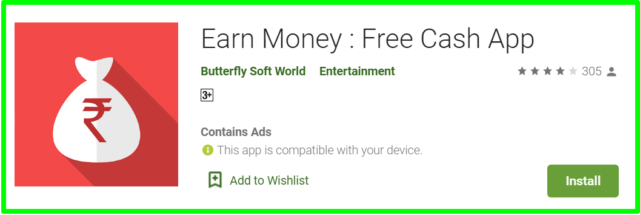 earn money free cash