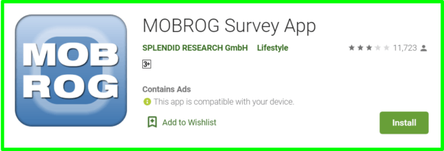 Mobrog survey app review