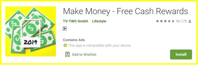 review of make money app
