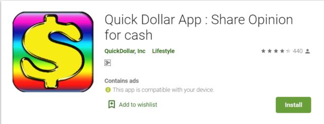 quick dollar app