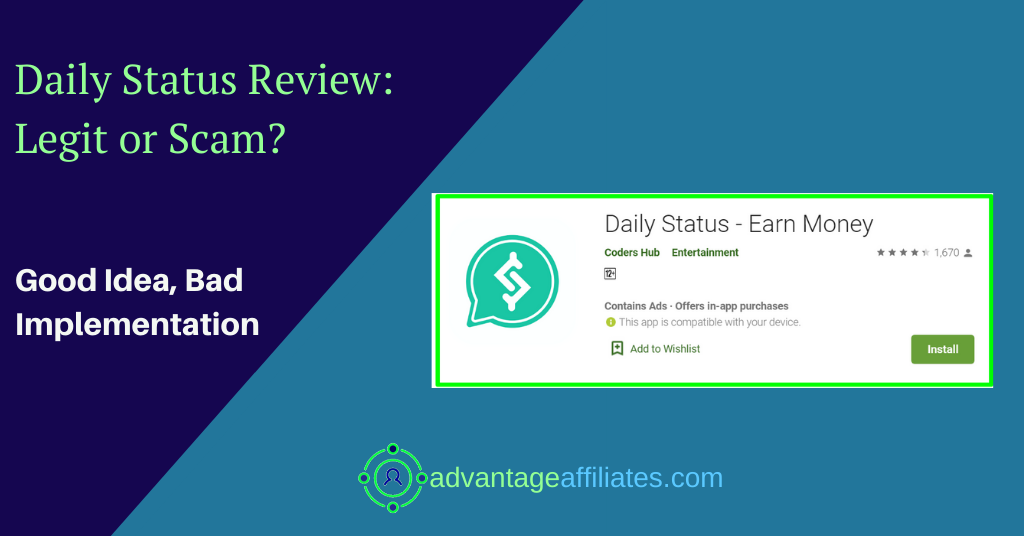review of daily status