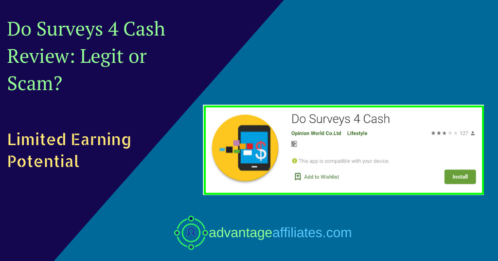 review of do surveys 4 cash