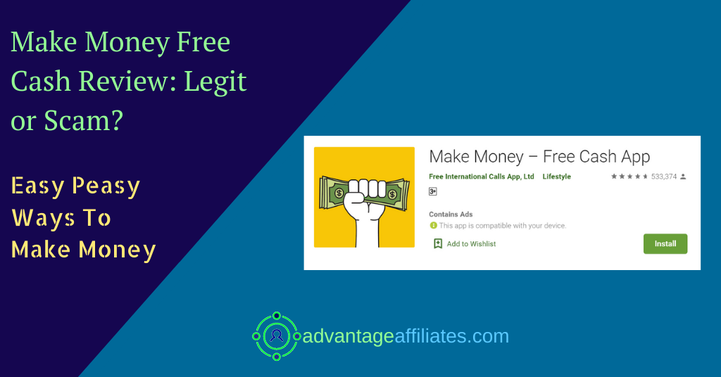 review of make money free cash