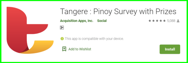 tangere pinoy survey review