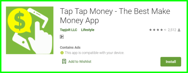 tap tap money review