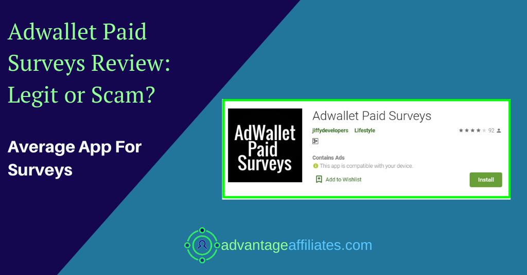 adwallet paid surveys review