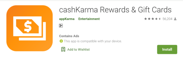 cashkarma rewards review