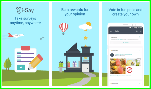 i-say Rewards Your Opinion review