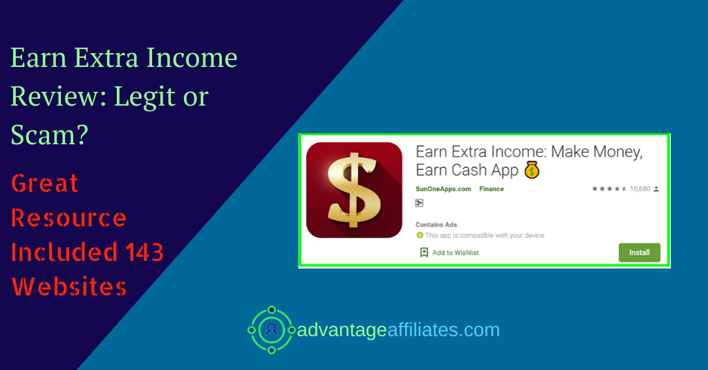 review of earn extra income