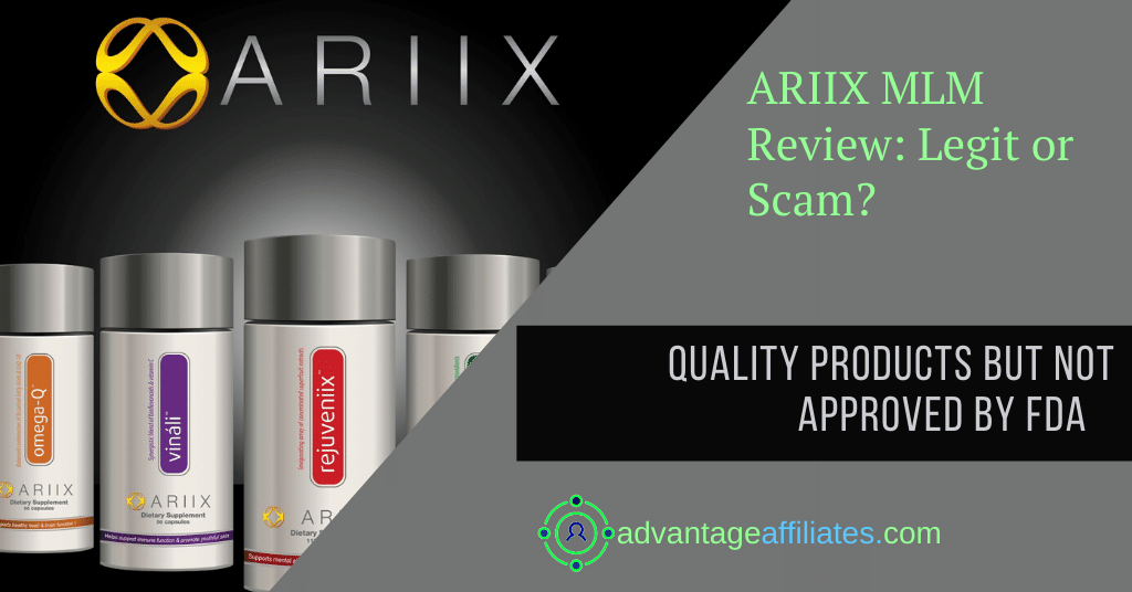ARIIX mlm review feature image