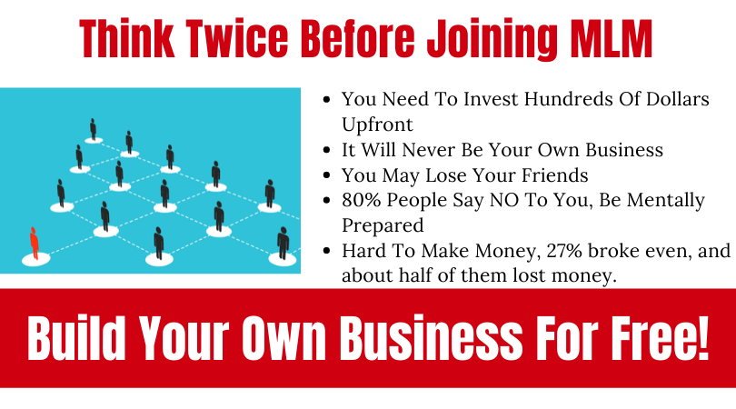 NO MLM-Your Own Business (2)
