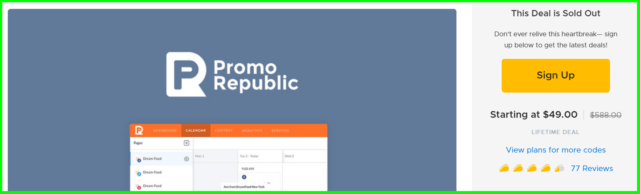 app sumo review - promo republic offer on appsumo