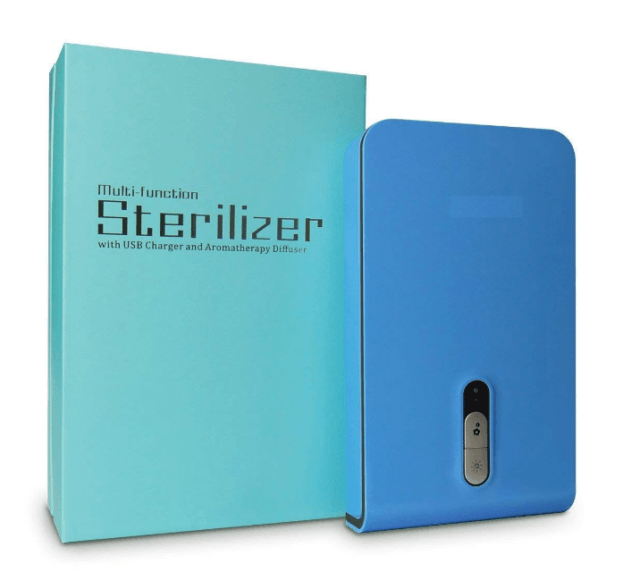 Review of Mobitizer Mobile Sanitizer -product image -