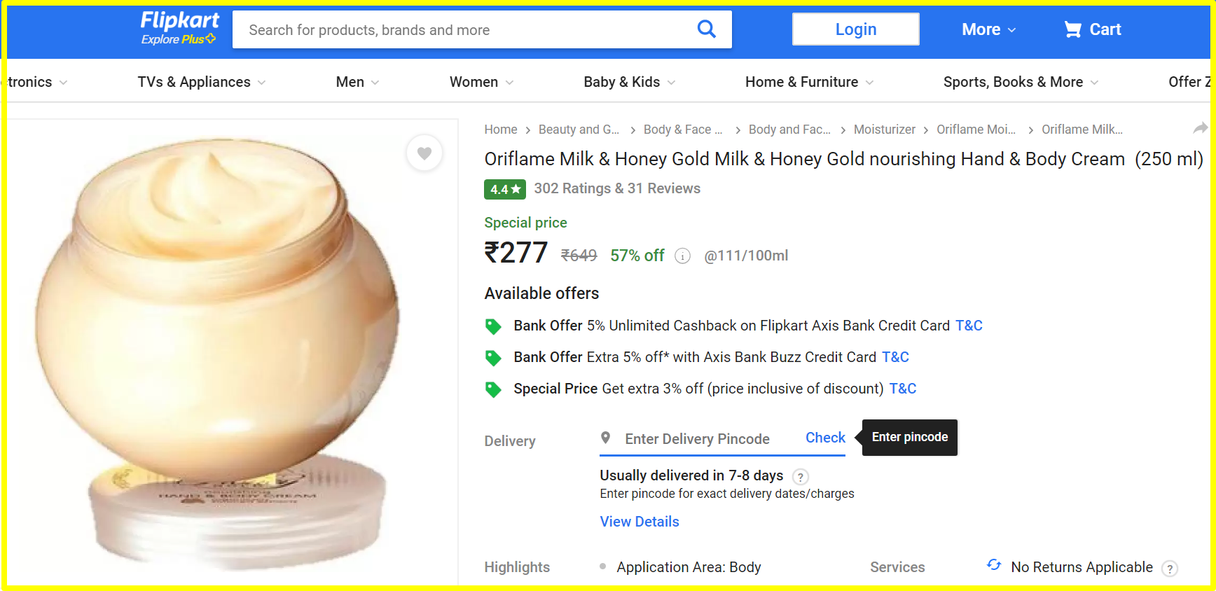 oriflame mlm review-flipkart cheaper than oriflame website