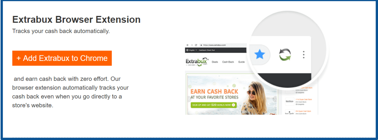 Extrabux review- Browser Extension