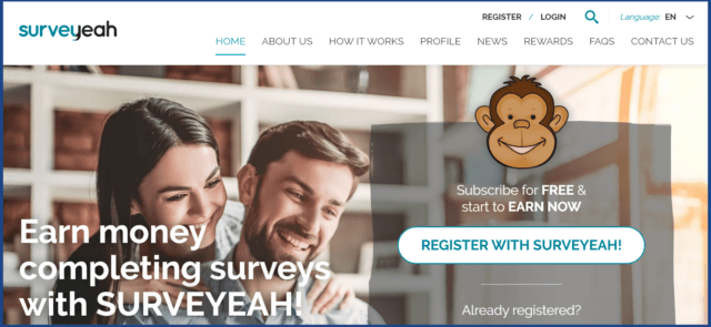 Surveyeah review-homepage