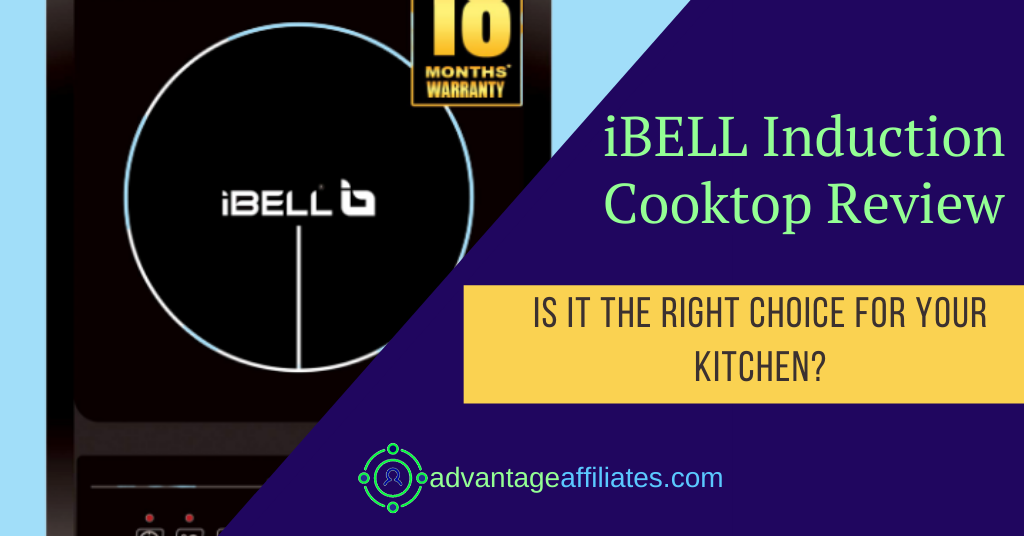 ibell induction cooktop review feature image