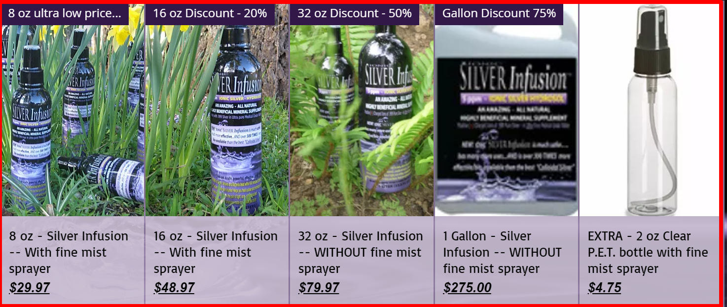 infinite incresing income review-silver infusion scam