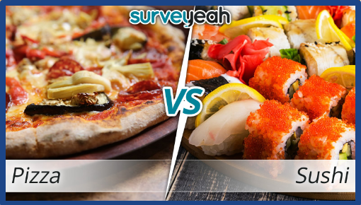 surveyeah review-quick poll-Pizza or Sushi - Surveyeah