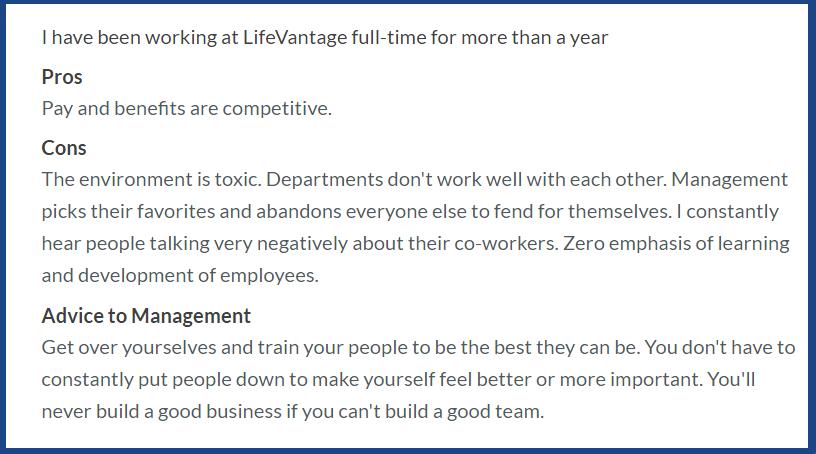 LifeVantage_Reviews_complaints on forums