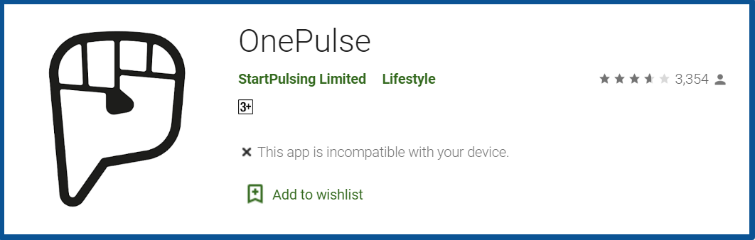 OnePulse App Review_homepage