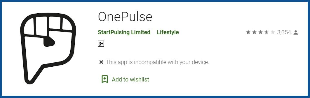 OnePulse App Review_homepage