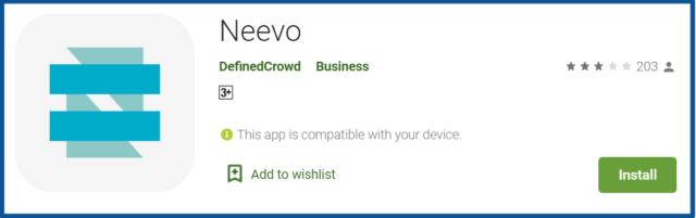 Neevo review-google play