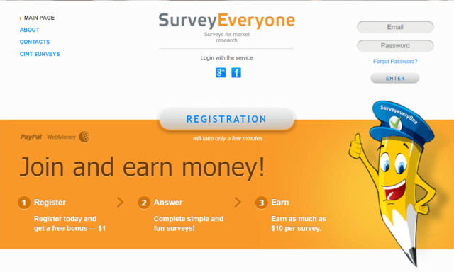 SurveyEveryOne review_homepage