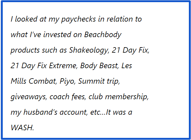 beachbody review-negative comments