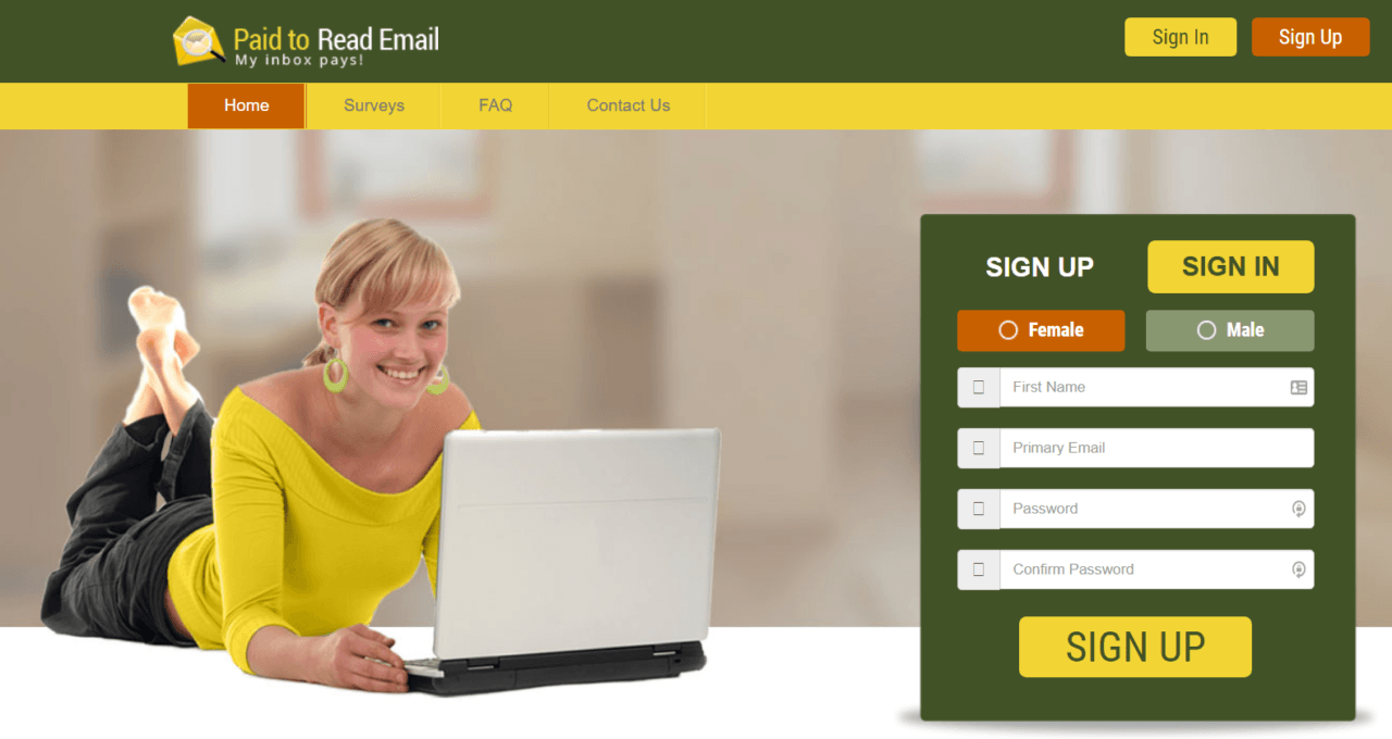 Paid-To-Read-Email review_homepage