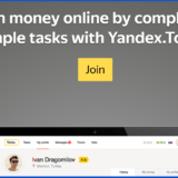 Yandex-Toloka review-homepage