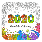 2020 Mandala Coloring App Logo