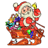 Adult Christmas Glitter Color logo