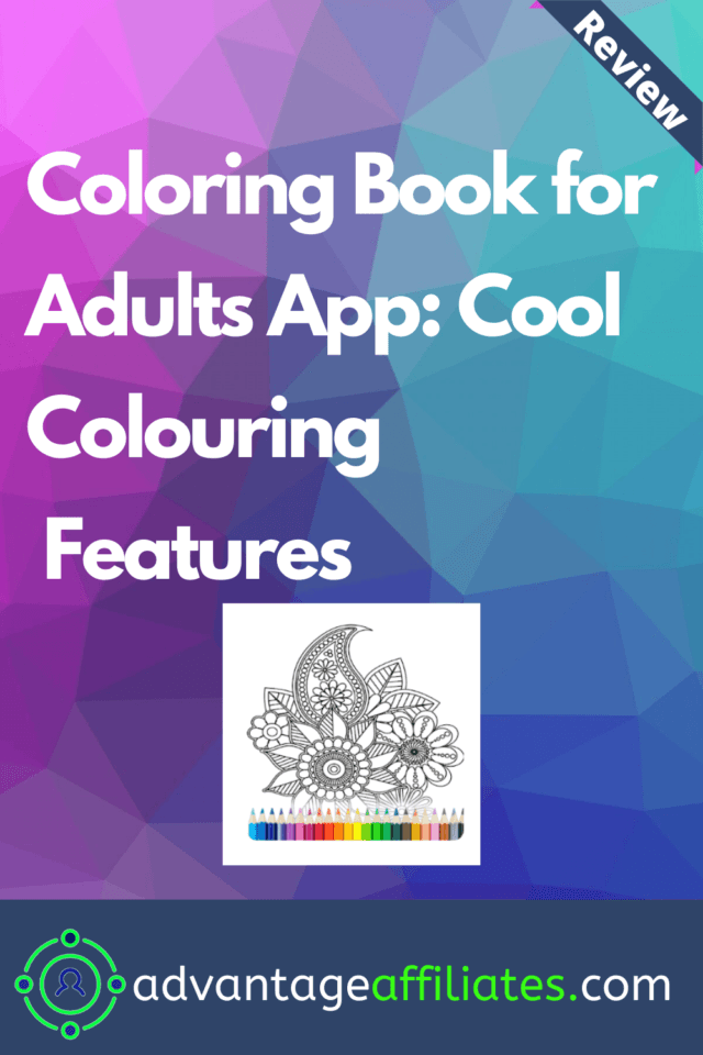 Coloring Book for Adults App review-pin