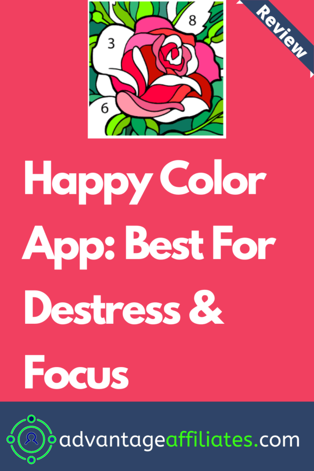 Happy Color App review-pin