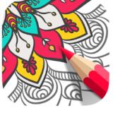 Mandala-Coloring-Book-app-logo