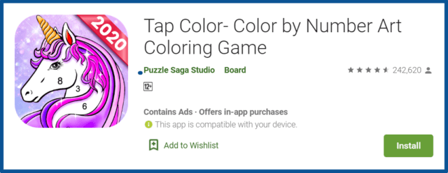 tap color app review