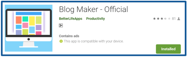 Blog-Maker-Officialreview-Apps-on-Google-Play
