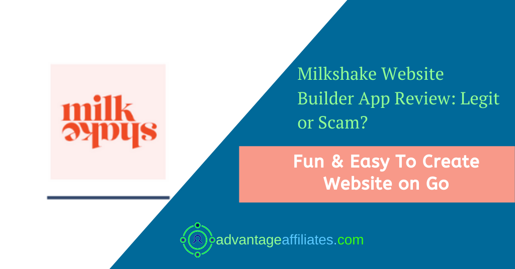 Milkshake website builder App Review -Feature Image