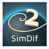 SimDif logo–-Apps-on-Google-Play