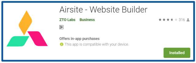 Top Blogging Apps-Review Airsite-Website-Builder-–-Apps-on-Google-Play