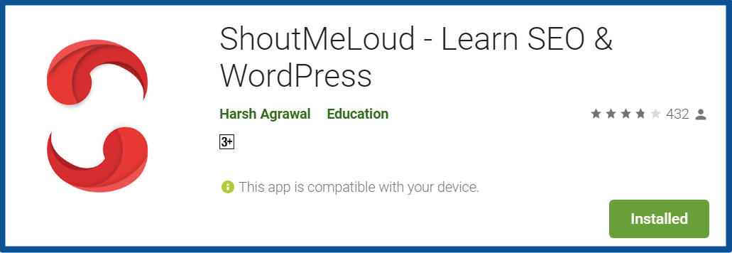 Top Blogging Apps- Shout Me Loud-Apps-on-Google-Play