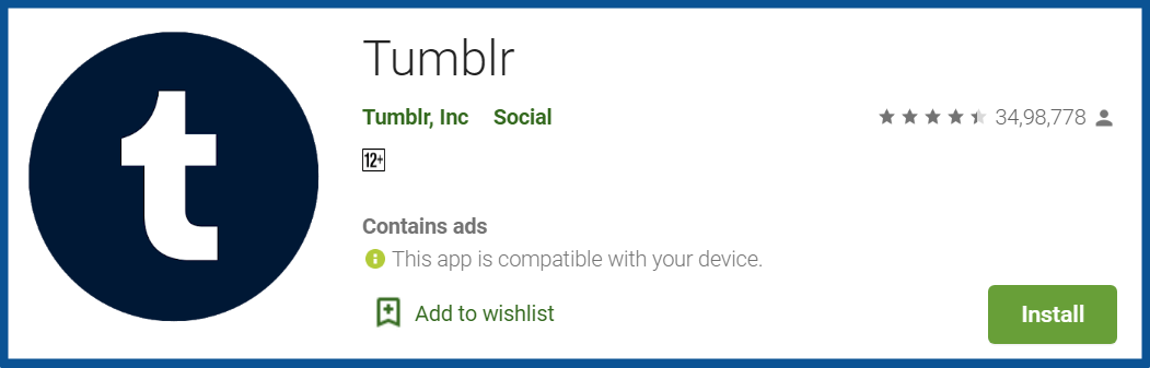 Top Blogging Apps-Tumblr-Apps-on-Google-Play