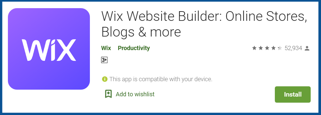 Top Blogging Apps-Wix-Website-Builder-Review–-Apps-on-Google-Play