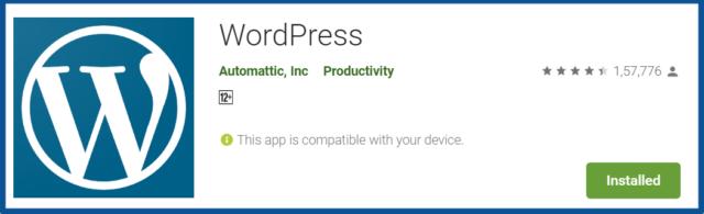 WordPress-Apps-on-Google-Play