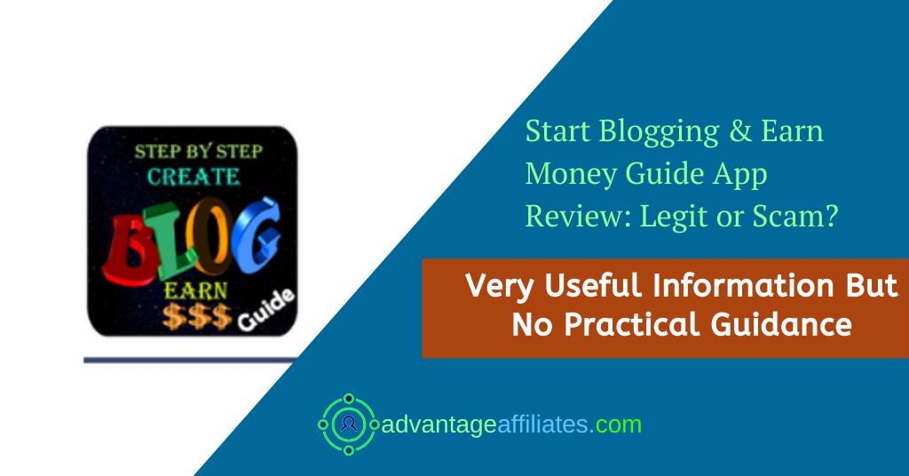 start blogging App Review -Feature Image